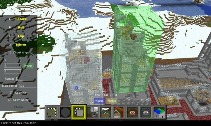 MCEdit: Minecraft World Editor (Compatible with MC Beta 1 8