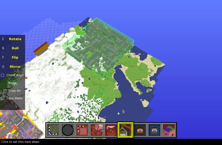Как сделать карту для сети в minecraft